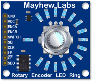 Encoder LED Ring (Mayhew Labs)  helvepic32s Webseite!