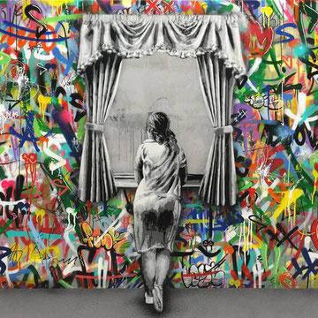 Martin Whatson Comment Faire Un Collage Street Art Colore Slave 2 0
