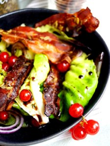 Maple Fennel Bacon auf Salat