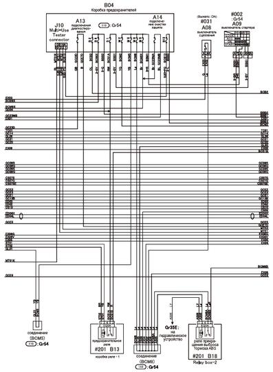mitsubishi canter truck wiring diagrams  car electrical