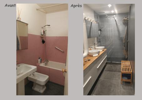 salle de bain renovation salle de bain avant apres avant apres renovation