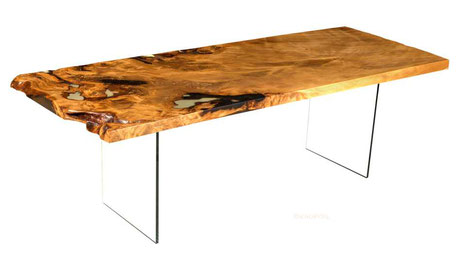 limited kauri wood table exquisite