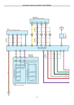 Toyota Electrical  Wiring Diagrams