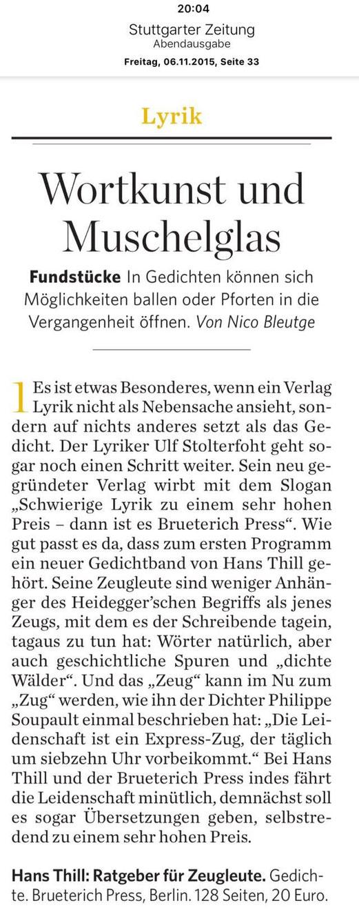 Neuigkeiten Brueterich Press