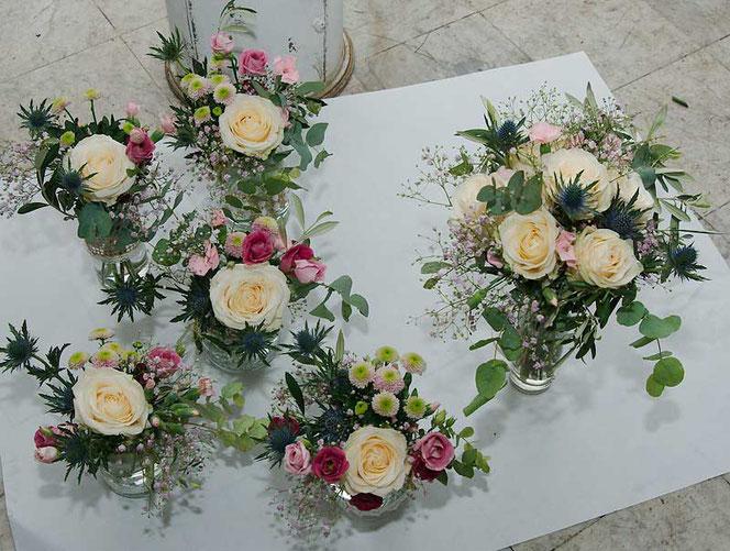 Tischdekoration Fur Die Hochzeit Hochzeit Tischdekoration