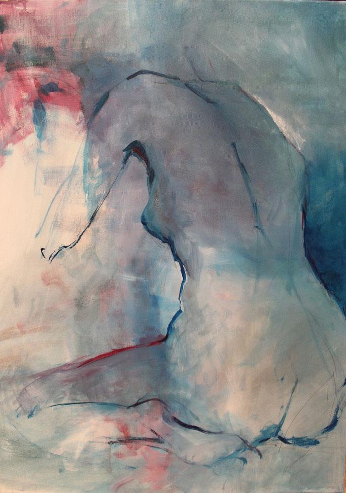 Abstrakte Aktmalerei Aktmalerei Malerei Und Abstrakt