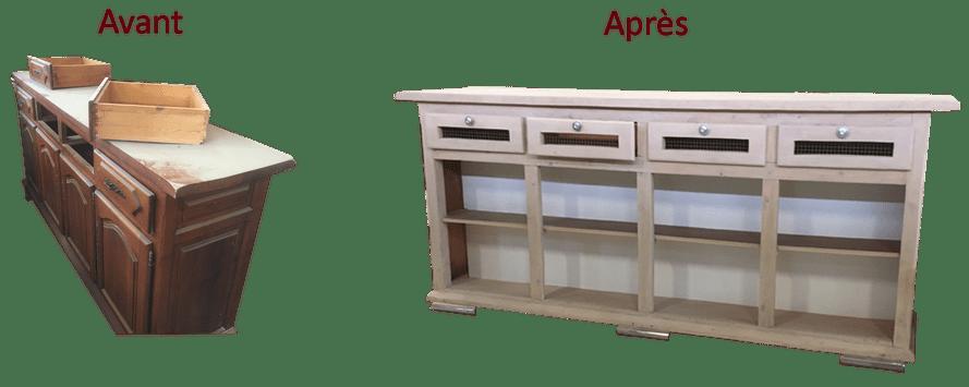 transformation meubles furniture