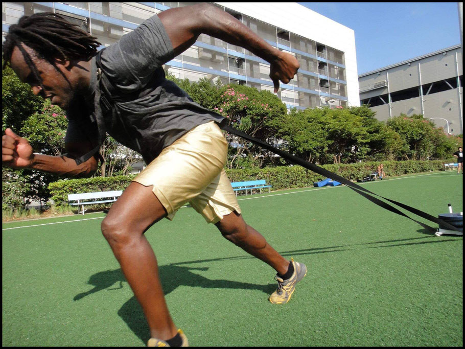 Jackson working out in 2009 - Photo courtesy of Kevin Jackson