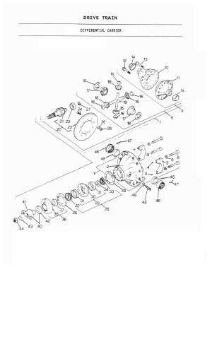 DRESER 530 PARTS  LES MACHINERIES STAMANT INC