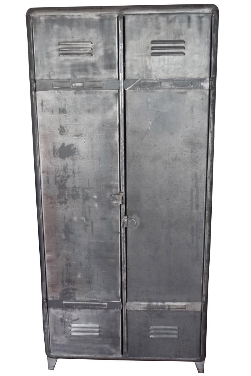 armoire industrielle atelier vintage