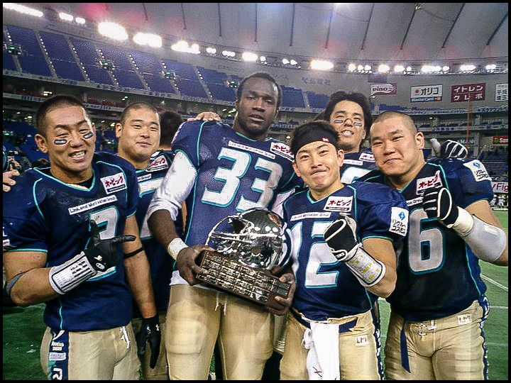 Jackson won a championship and was named JXB MVP in his rookie season - Photo courtesy of Toshihide Nakamura, Dec 19, 2005