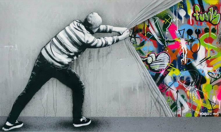 59 Streetart Collage