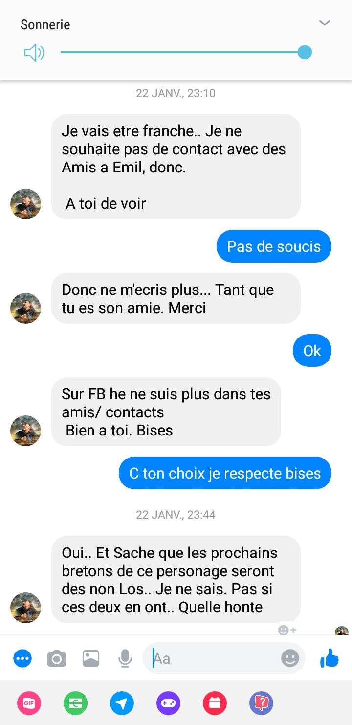 news epagneuls bretons du bois de finges