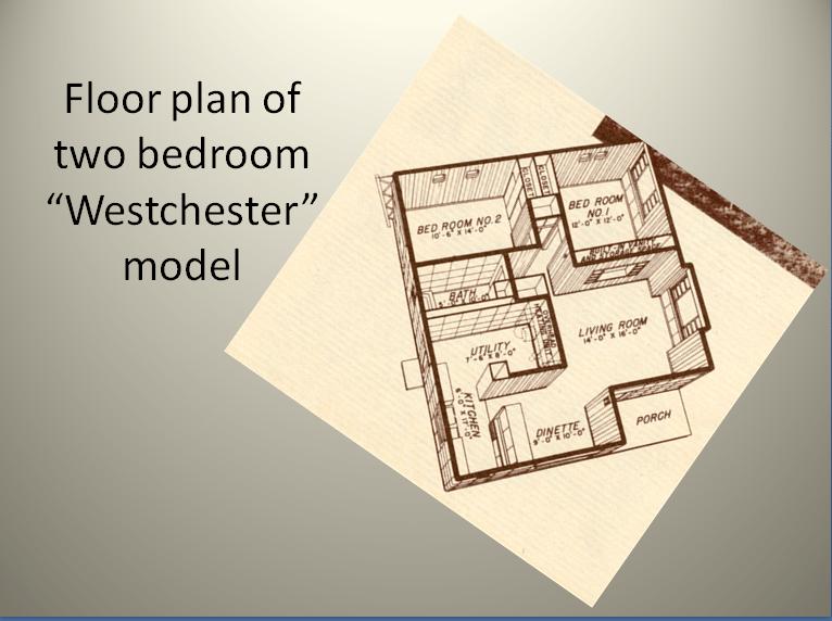 Lustron Floor Plan Post World War Two Housing