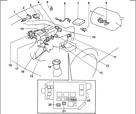 toyota mark ii  wiring diagrams