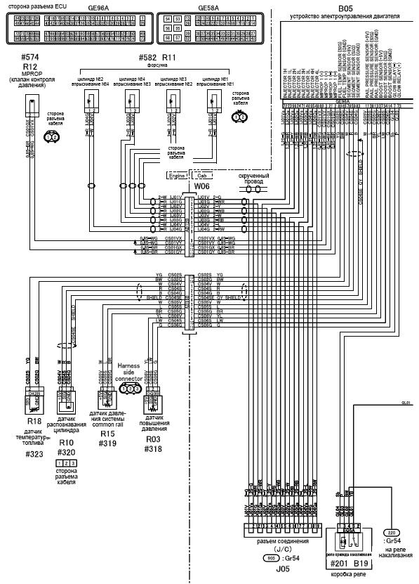 mitsubishi fuso wiring diagram  schematic wiring diagram