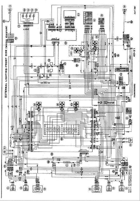 alfa romeo milano wiring diagrams  car electrical wiring