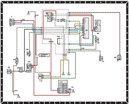 ford escort wiring diagrams  car electrical wiring diagram