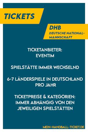 tickets der handball nationalmannschaft