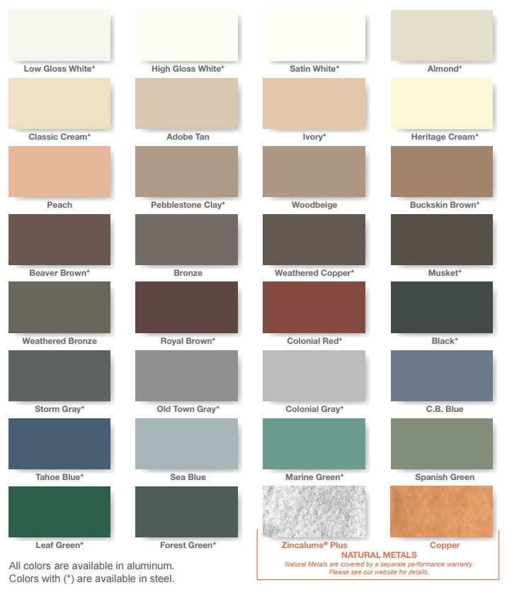 Certainteed Shingles Color Chart