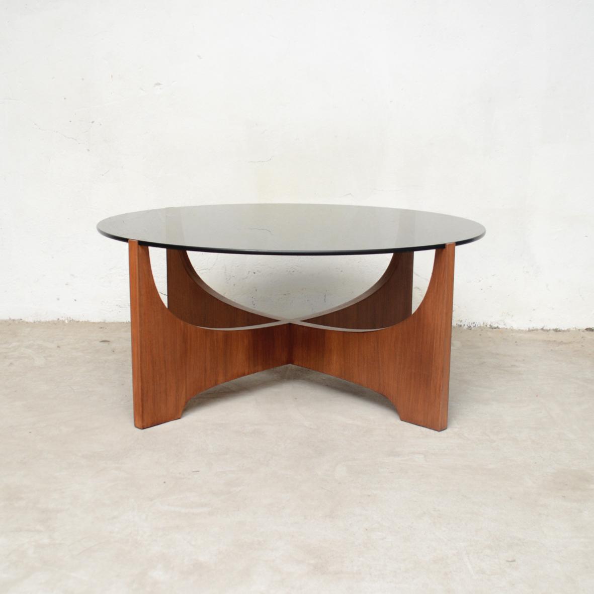 table ronde verre scandinave tiangge