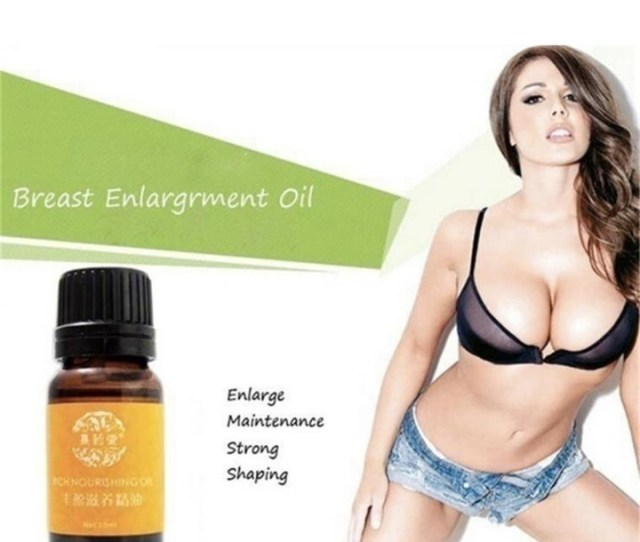 2018 Plant Natural Breast Plump Breast Grow Up Busty Powerful Breast Enlargement Massage Oil As Show