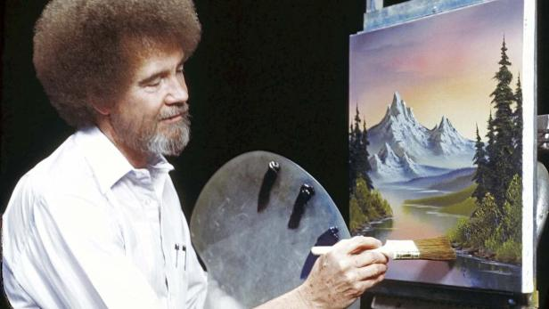 Bob Ross Malerei Dunstigen Wolken Malerei Video Youtube