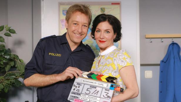 Die Rosenheim Cops Drehen Staffel 17 Kurier At