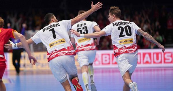 Handball: Österreich stürmt mit Gala in die EM-Hauptrunde