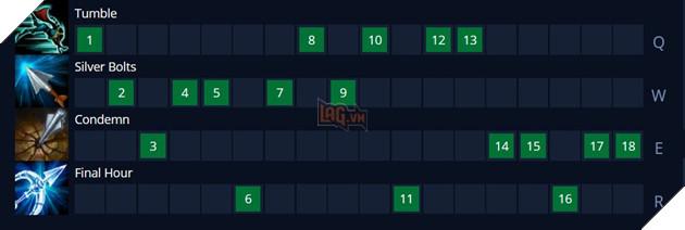 LMHT: Hướng dẫn cách lên đồ mới và bảng ngọc Vayne mạnh nhất Mùa 11 Tiền Mùa Giải 2021 10