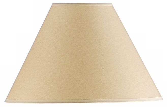 Kraft Paper Hardback Lamp Shade 6x16x11 (Spider)
