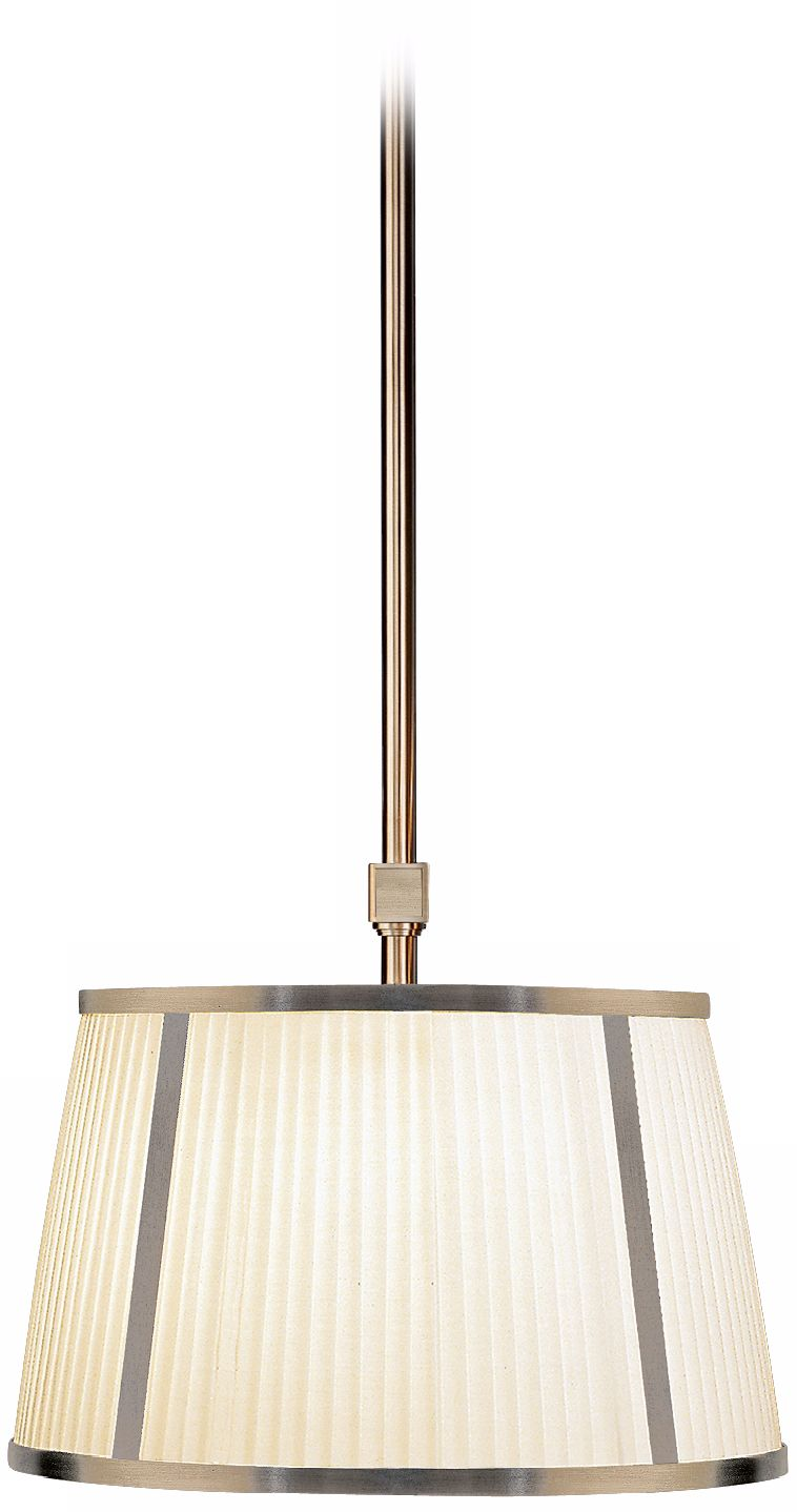 "Chase Dark Nickel Finish 16"" Wide Pendant Chandelier"