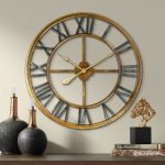 Oversized Clocks Extra Large Wall Clock Designs Lamps Plus