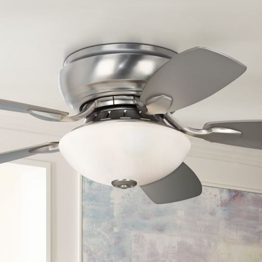 Hugger Ceiling Fans   Flush Mount Fan Designs   Lamps Plus 44