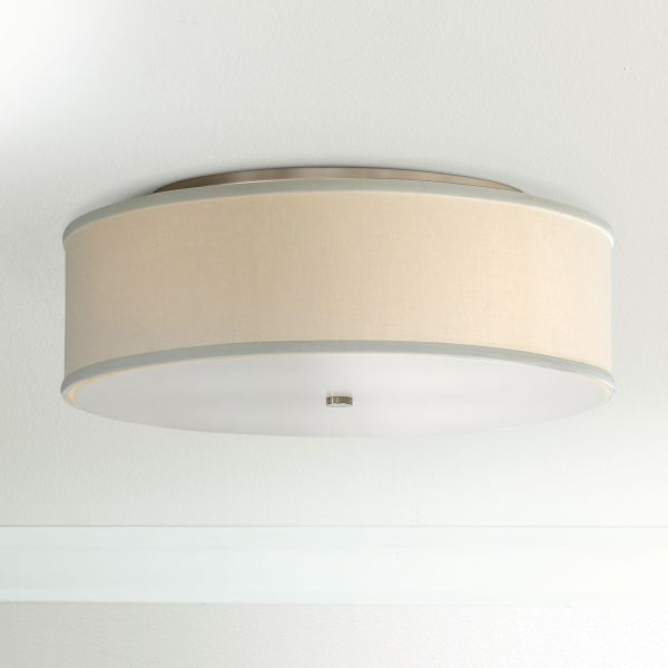 Tech Lighting Mulberry 20  Wide White Drum Ceiling Light    27934     Tech Lighting Mulberry 20  Wide White Drum Ceiling Light