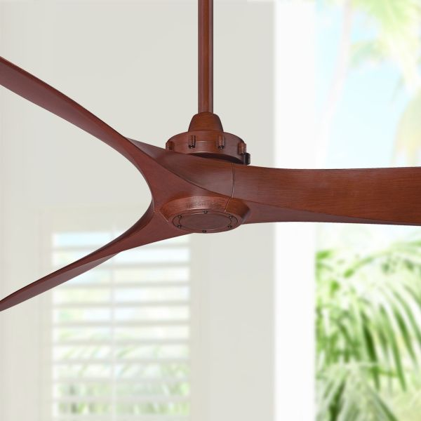Minka Aire  Mid Century  Ceiling Fan Without Light Kit  Ceiling Fans     60