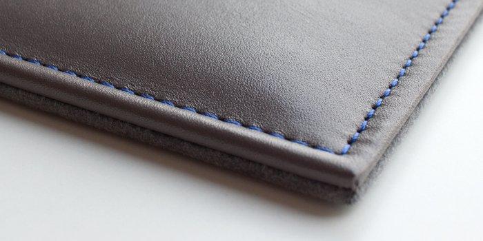 tapis de souris en cuir personnalisable
