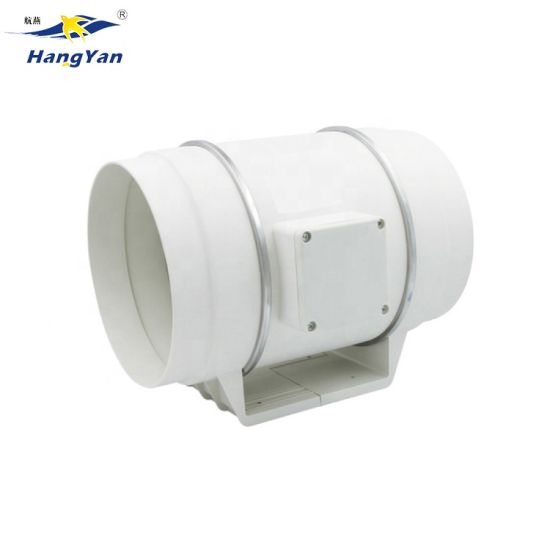 8 inline duct exhaust fan air blower hydroponics cooling vent bracket