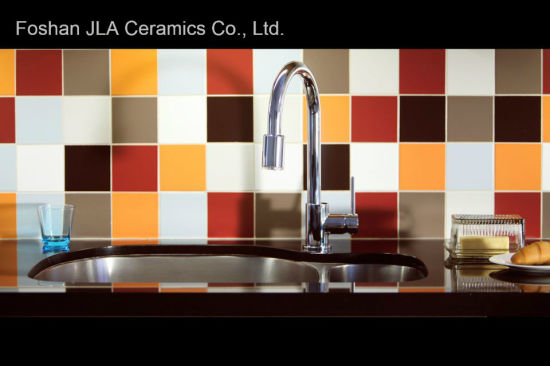 red color 8x8inch 200x200mm ceramic discontinued floor tile