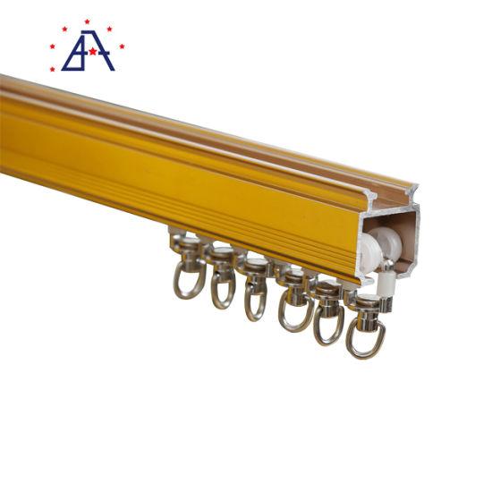 aluminium sliding window accessories heavy curtain rods and rails curtain track rod