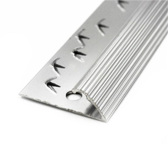 carpet transition strips chrome edge trim dual gripper tile to carpet trim