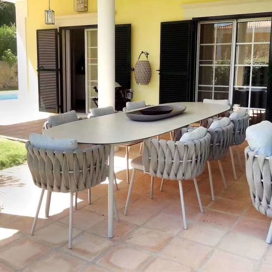 ceramic glass marble glass timber glass for outdoor rattan furniture garden furniture patio furniture table top