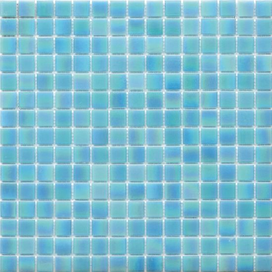 4mm thickness swimming pool hot melt glass mosaic tile h420129