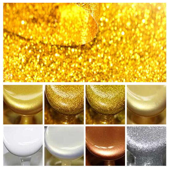 light gold color double tube two component ceramic flexible epoxy tile grout for seam filling and joint adhesive