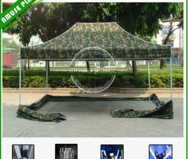 Aluminum Frame Ez Up X Waterproof Canopy Tent With Sidewalls