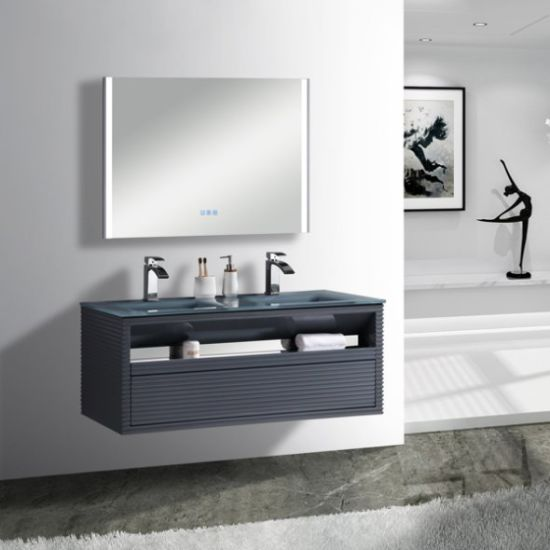 china double sinks hanging floating