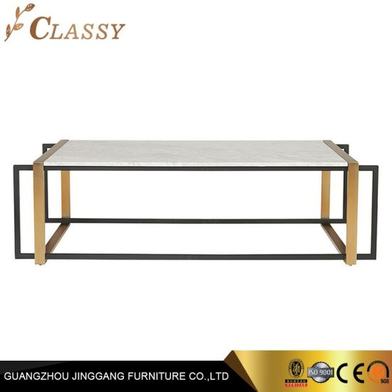 granite marble rectangle coffee table