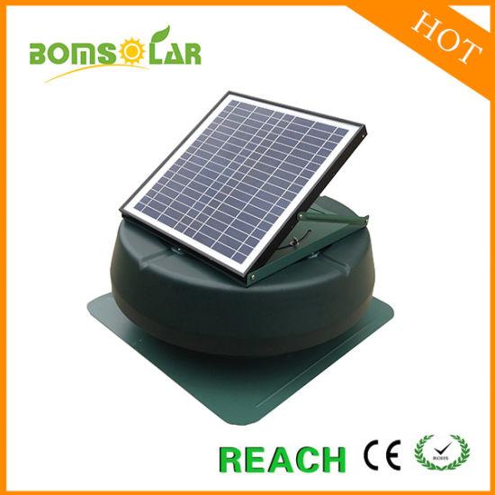 china 14 solar powered roof ventilator