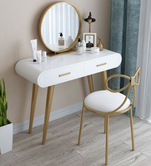 nordic luxury cute style dressing table
