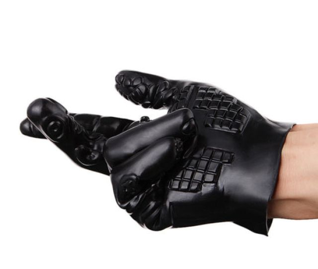 Massager Gloves Waterproof Soft Glove Silicone Erotic Sex Products Sex Toys For Couples Adult Products Xn0117